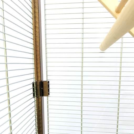 woliera, klatka dla ptaków - drut 2 mm