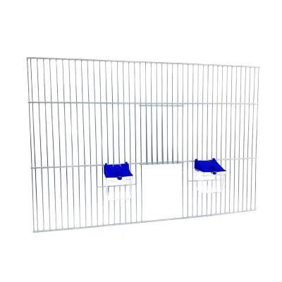 Front dobudowy klatek dla ptaków 60x40 zpoidełkami