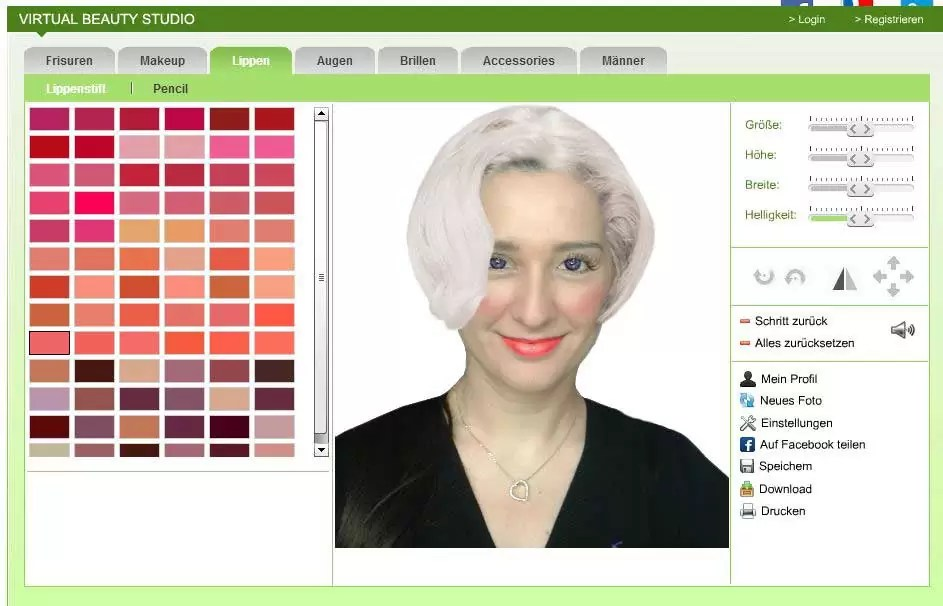 Virtuell Frisuren Testen Kostenlos Helena Blog