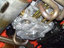 Detailansicht des 2,4 l Motors