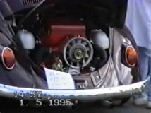 1995 aktuell: 2,6 l Motor mit 195 PS.