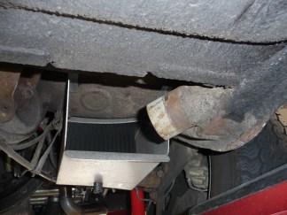 Ölkühler am Porsche 356 Beifahrerseite