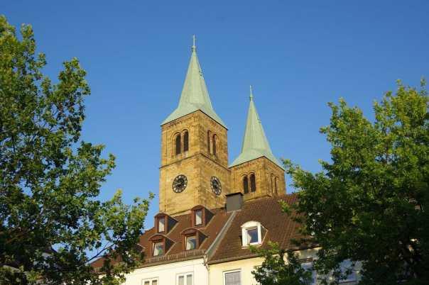 Christuskirche, Schwelm, Abendsonne, Tor Westfalens, Kreisstadt,