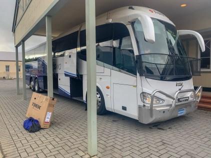 TransWA bus at the Albany Terminal