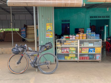 """A common """"side of the road"""" convenience store. Ideal for stocking up on water and simple snacks."""
