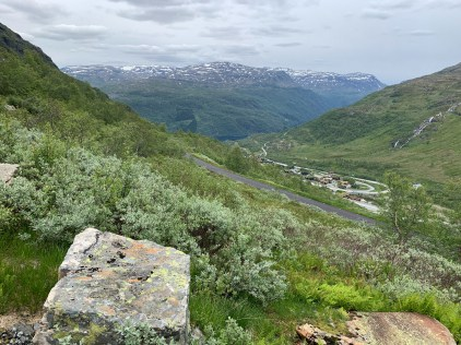 The road up to Røldal Pass