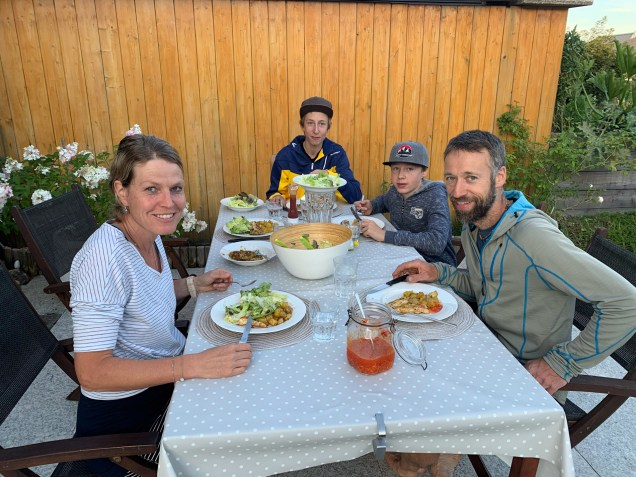 Staying with the Albisser family, who I have met in New Zealand a few months prior