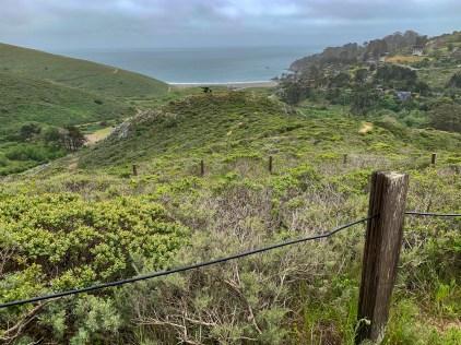 Last bit of climbing, switchbacking up Dias Ridge Trail