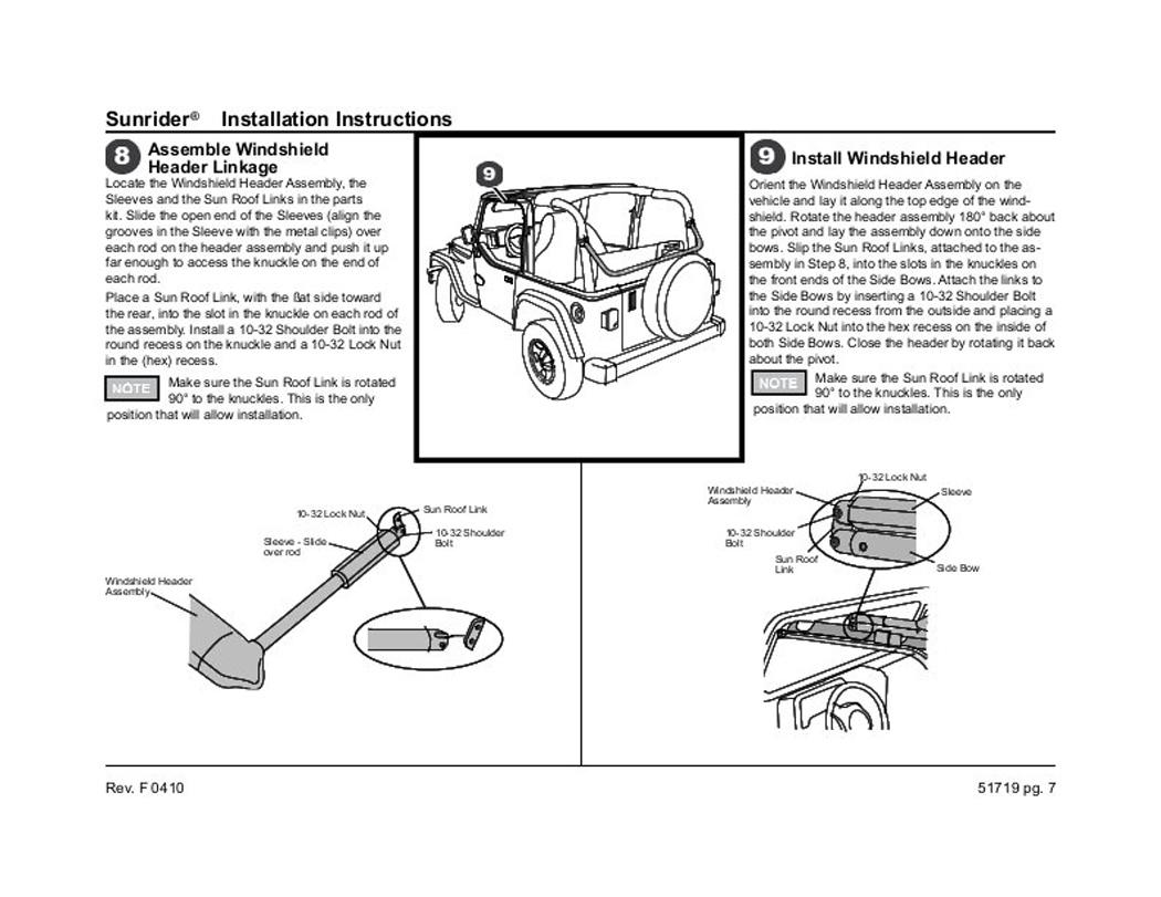 Jeep Wrangler Tj 03 06 35 Supertop Schwarz