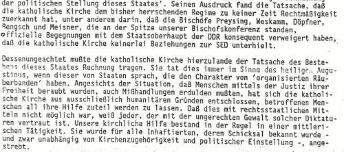 Die katholische Kirche in der DDR  Klaus Taubert
