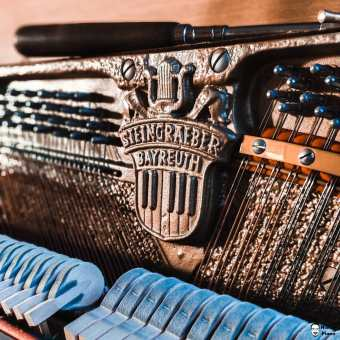 """Steingräber"" Piano #instapiano #pianolover #pianopiano #pianokeys #pianos #pianogram #pianoman #pianomusic #pianoplayer #pianolove #music #pianist #piano#pianoforte #piano #music #klavierspielen #klavierunterricht #pianocover #musik #pianomusic #klavierkonzert #klavierkunst #musician #klavierabend #pianolessons #pianolove #klavieres #pianolover #klaviercover"