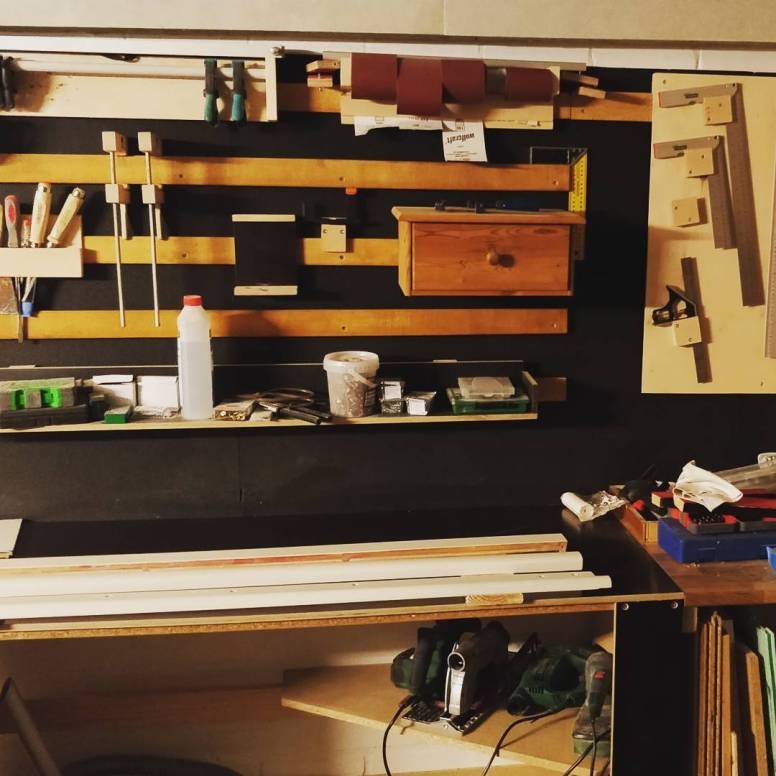 my wood workshop #pianorenovation #piano #klavierwerkstatt