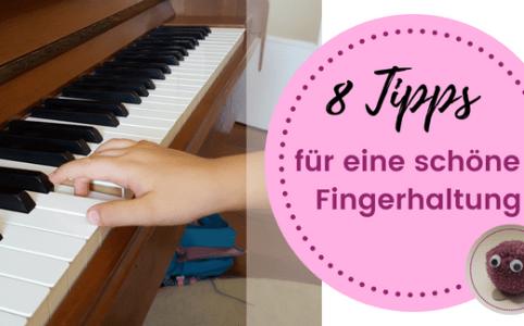 Klavier unterrichten, die richtige Fingerhaltung und Klaviertechnik auf klavierpaedagogikentdecken.de