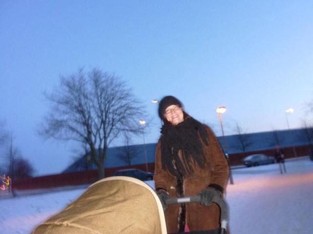 En tur med barnvagnen