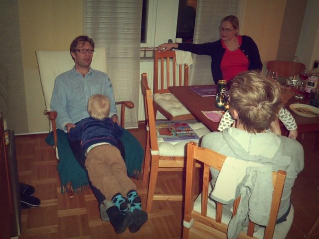 Valborgsefterfesten med indisk mat och TP 90