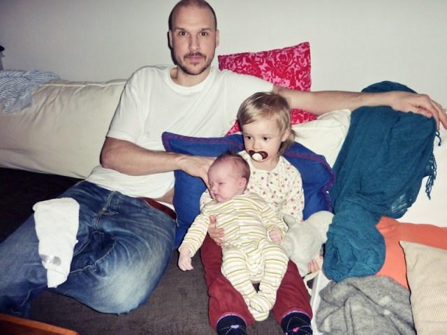 En trött trio