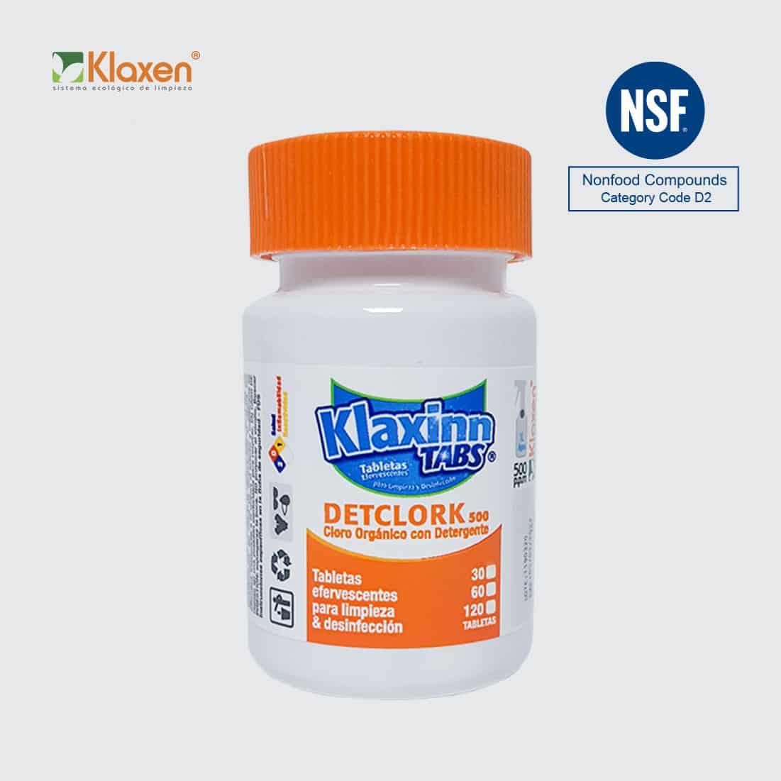 Tabletas de Cloro Orgánico Klaxinn Tabs