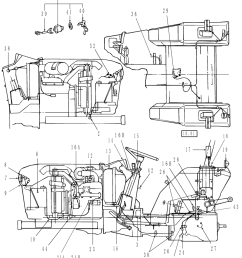 agricultural tractor wiring diagram [ 884 x 1000 Pixel ]