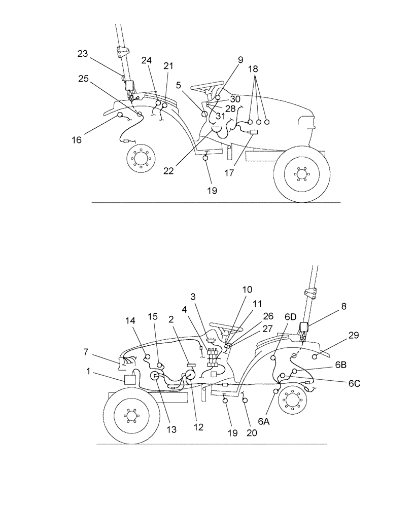 medium resolution of two wire alternator wiring diagram for sba185046320