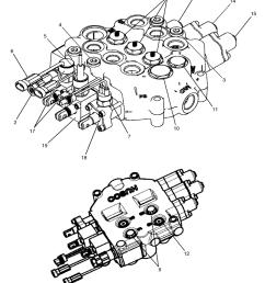 skid steer hydraulic schematic [ 812 x 1000 Pixel ]