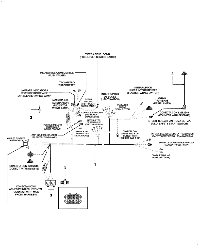 hight resolution of agricultural tractor wiring diagram