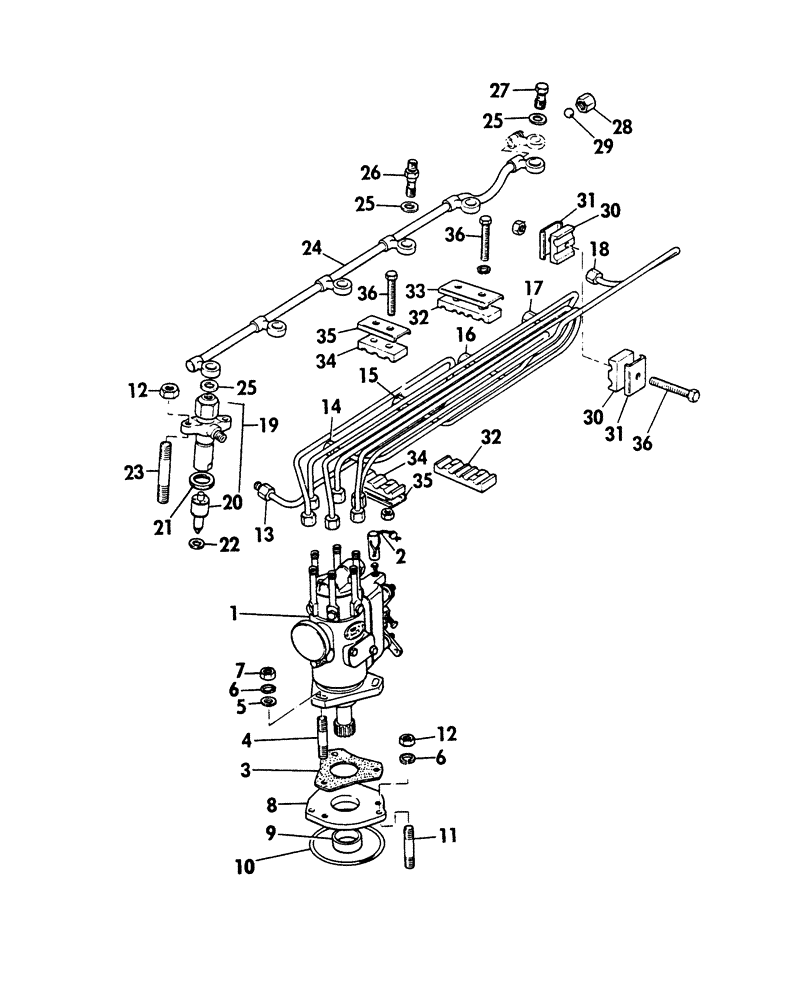 hight resolution of perkin fuel injection pump diagram