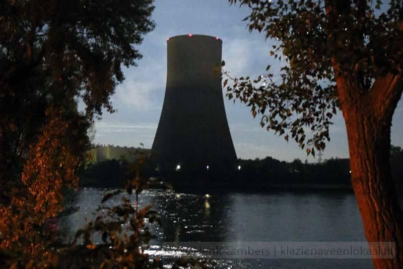 kerncentrale aan Rijn