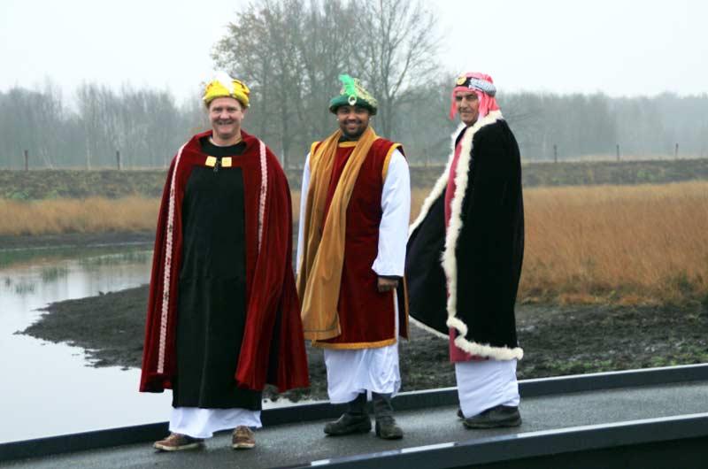 drie-koningen, winterwandeling