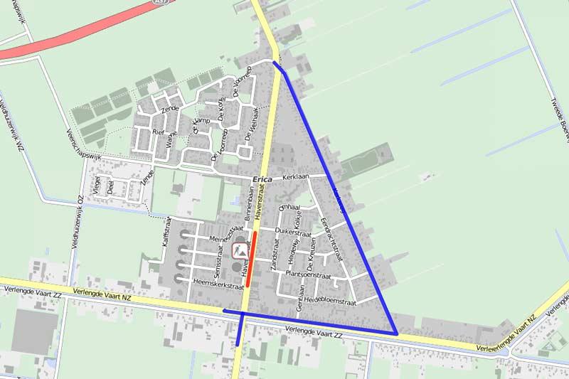 wegwerkzaamheden-Havenstraat-Erica-2017-2018