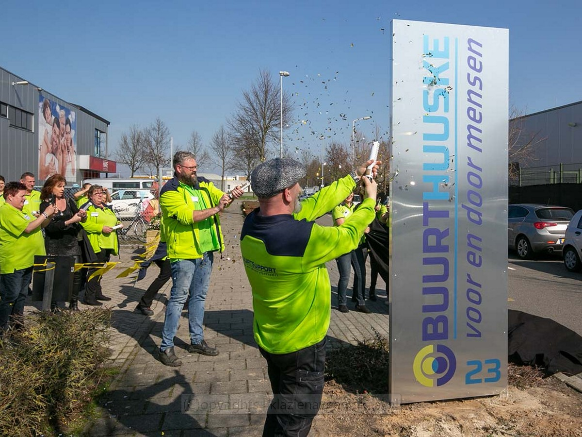 Buurthuuske opening 2019 06
