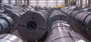 Steel Coils in Storage