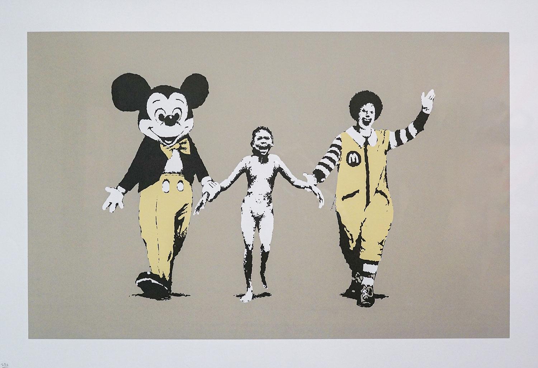 「バンクシーで振り返るイギリスのストリートアート文化」