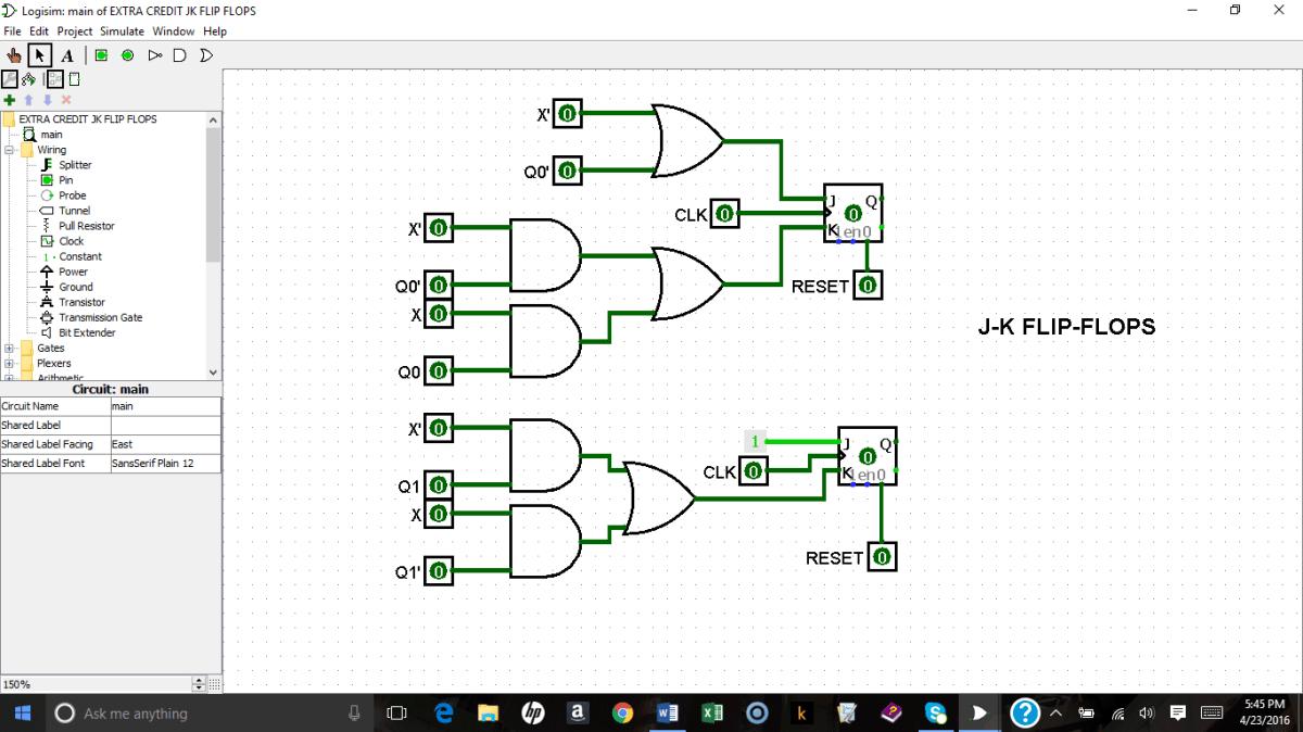 a synchronous counter design using d flip flops and j k flip flops k l craft website and blog [ 1200 x 675 Pixel ]