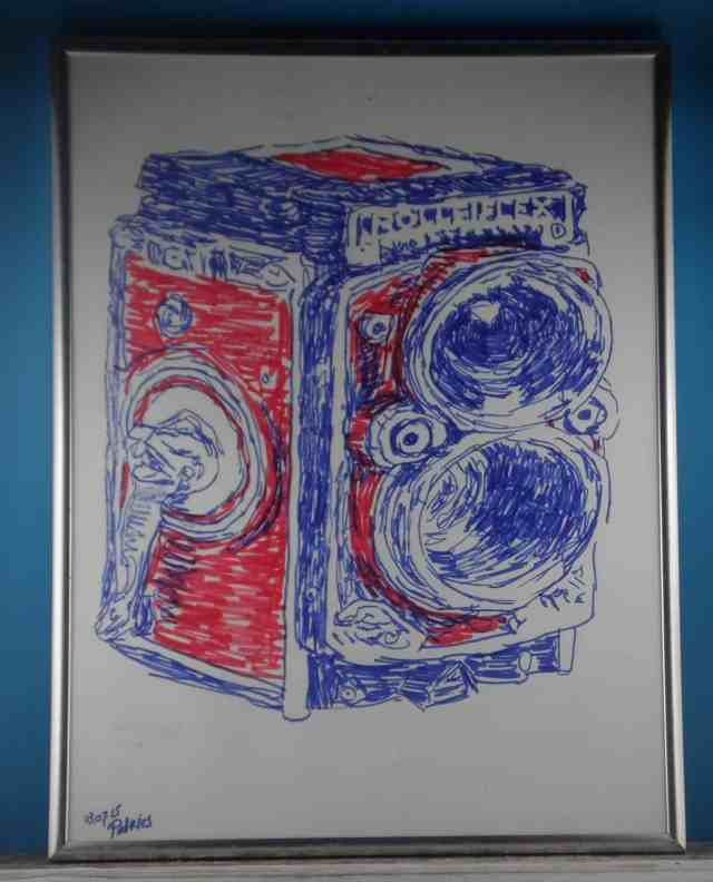 Rolleiflex by Patries van Dokkum