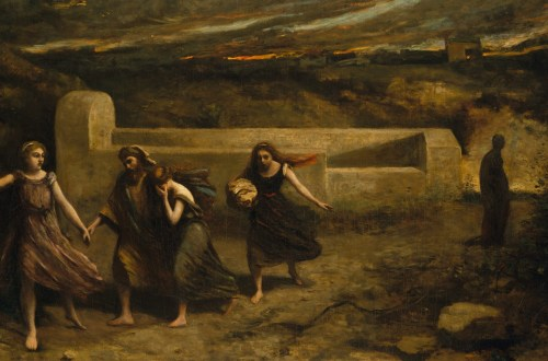 Camille Corot - The Burning of Sodom