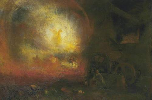 Joseph Mallord William  Turner - The Hero of a Hundred Fights (1847)