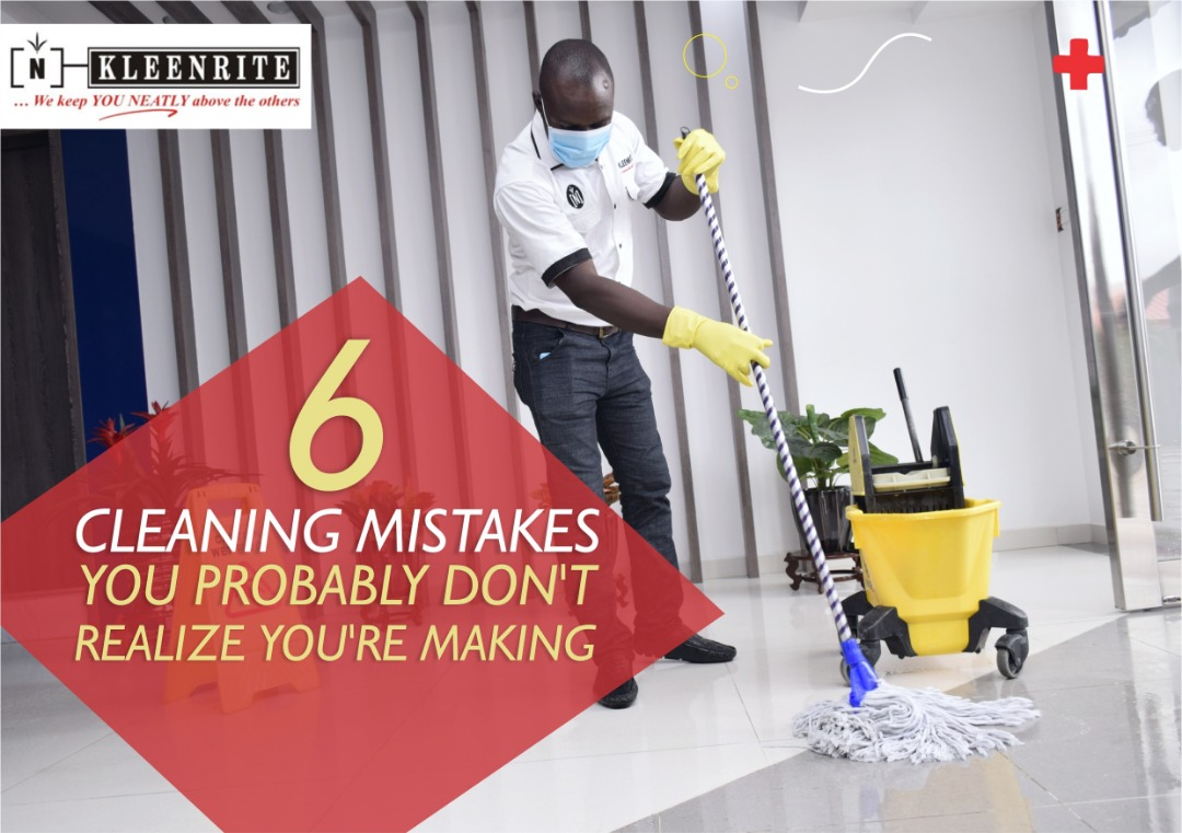 6 Cleaning Mistakes You Probably Don't Realize You're Making