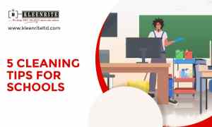 5 Cleaning Tips for Schools