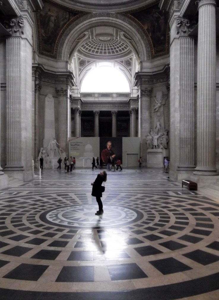 Inside the Panthéon