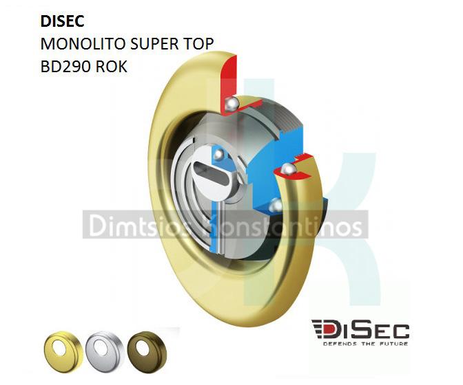 DISEC MONOLITO SUPER TOP BD290 ROK