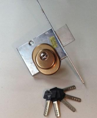 Κλειδαριά ξύλινης πόρτας CISA 03