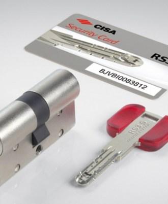 Κλειδαριά πόρτας ασφαλείας CISA rs3s-01