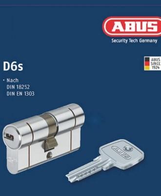 Κύλινδρος - αφαλός ασφαλείας ABUS D6s