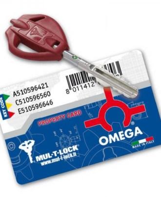 Κλειδαριά πόρτας ασφαλείας νέου τύπου OMEGA PLUS 2