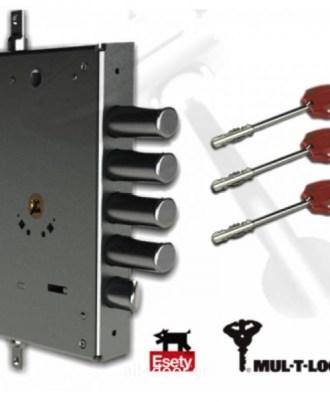 Κλειδαριά πόρτας ασφαλείας νέου τύπου OMEGA PLUS 4
