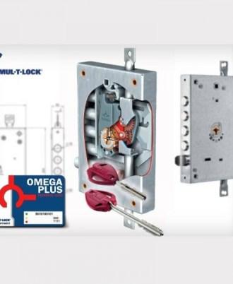 Κλειδαριά πόρτας ασφαλείας Νέου τύπου (Omega Plus) multlock-052