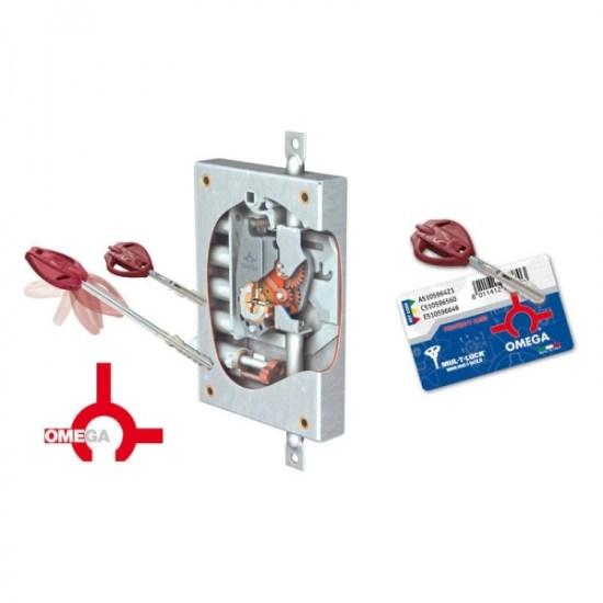 Κλειδαριά πόρτας ασφαλείας νέου τύπου OMEGA PLUS 7