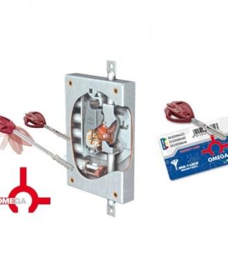 Κλειδαριά πόρτας ασφαλείας Νέου τύπου (Omega Plus) multlock-073