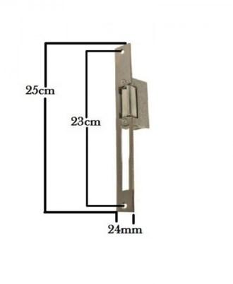 Ηλεκτρικό κυπρί Testa ξυλινής πόρτας 1