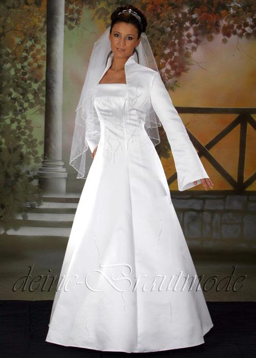 Hochzeitskleid Brautkleid Bolerojacke Hochzeit Kleid Träger Bolero